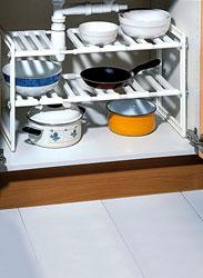 Multinotas organizadores de cocina orden y limpieza for Organizador bajo fregadero ikea
