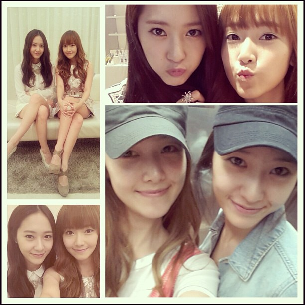 [Picture] 130418 Jessica with Krystal from Krystal's Instagram