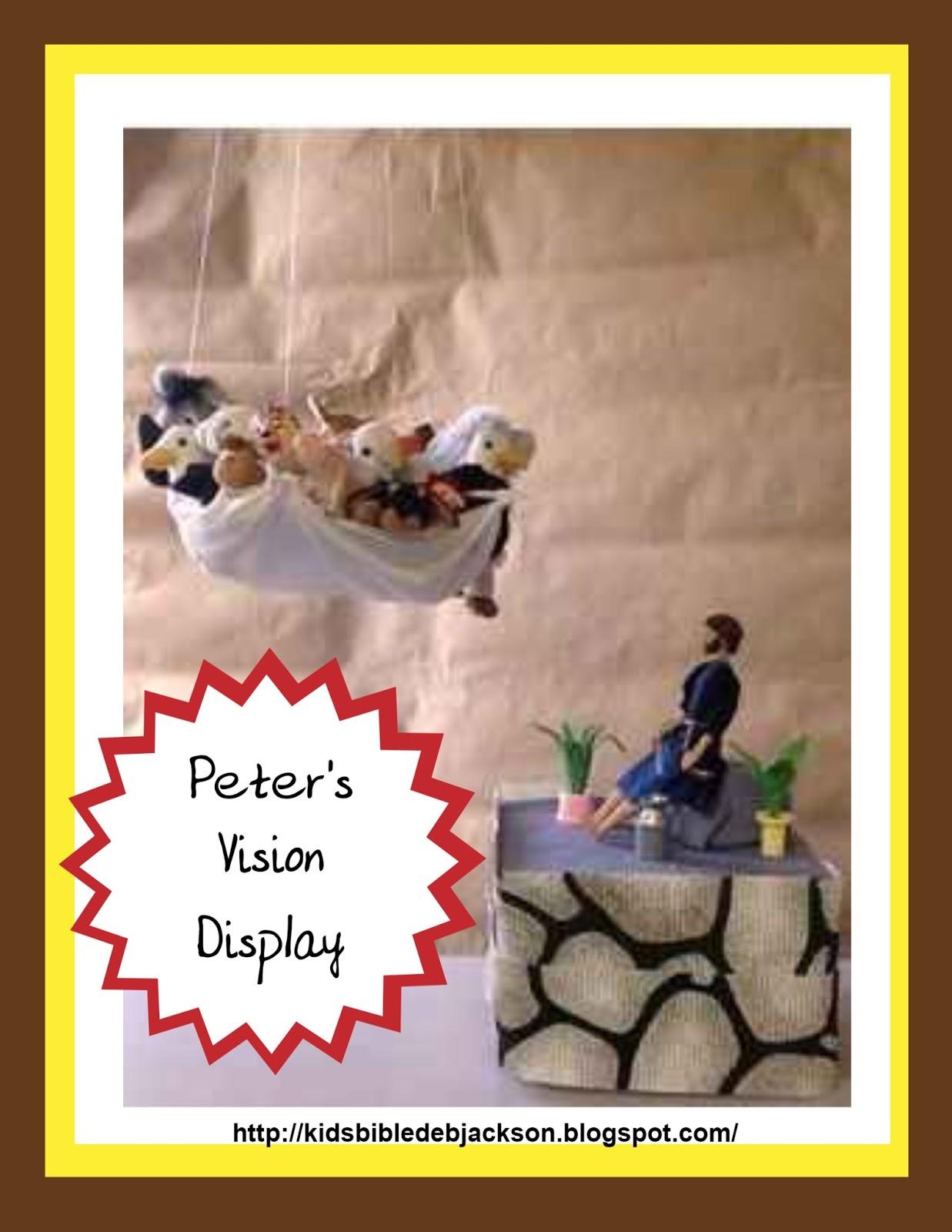 Bible Fun For Kids Cornelius Peters Vision