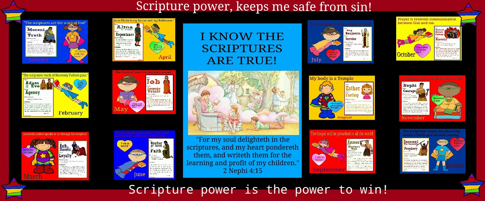 Primary pathways: Scripture Super heroes