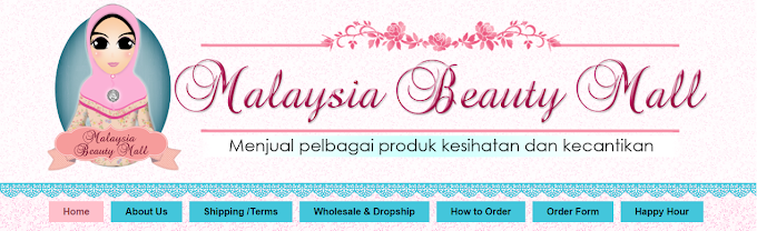 Tempahan Design Blog Malaysia Beauty Mall