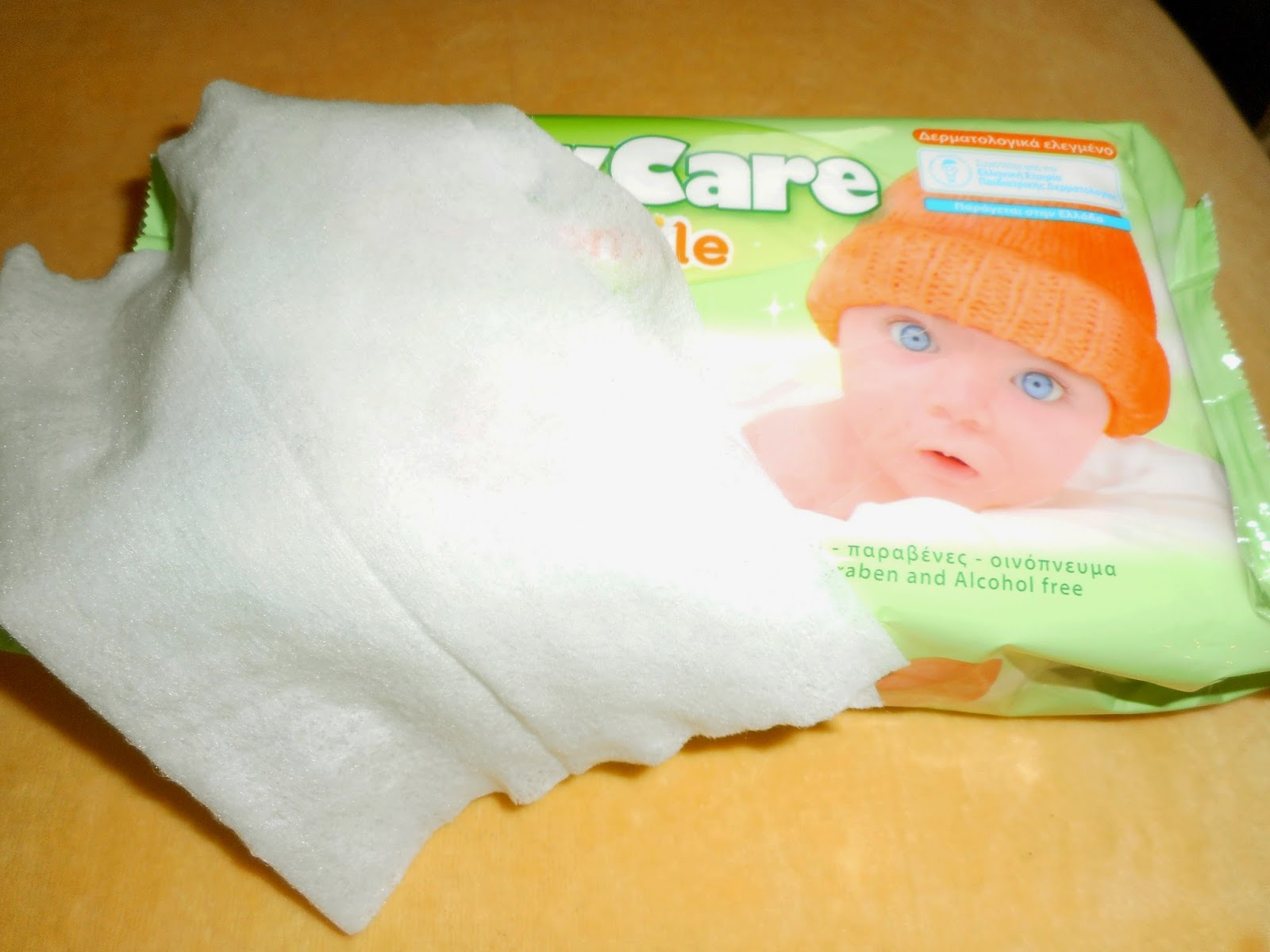 Lingettes pour bébé
