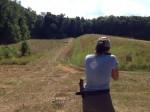 girl with rifle shoots 3 gun match