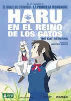 pelicula Haru en el Reino de los Gatos