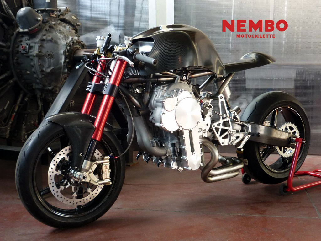 Nembo Motorcycle Inverted Triple Prototype