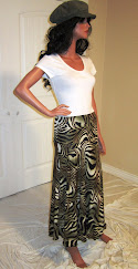 Sassy in Olive Green Zebra Wave