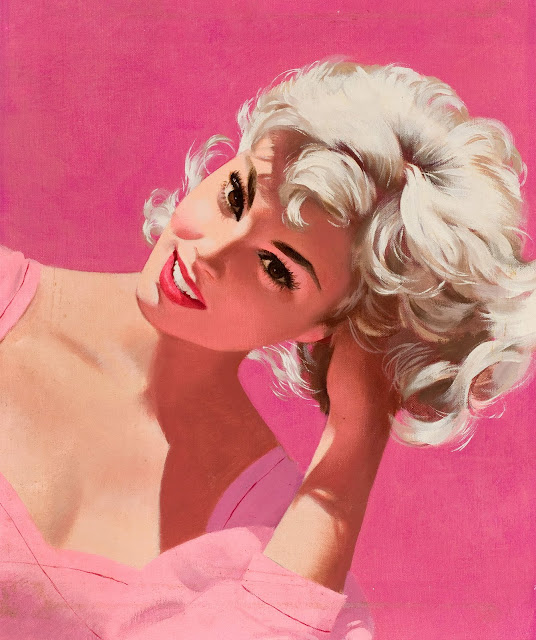 glamorous young women art pin up