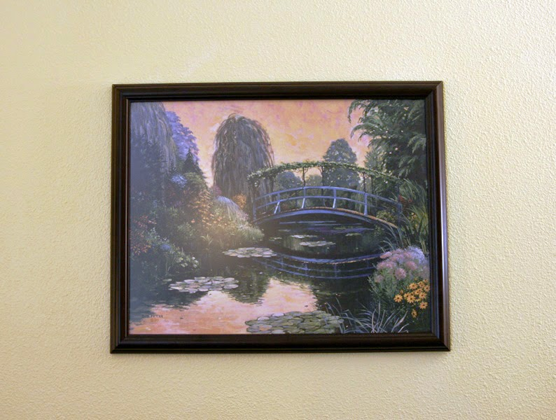 picture on my wall Monet Garden III by Bob Pettes