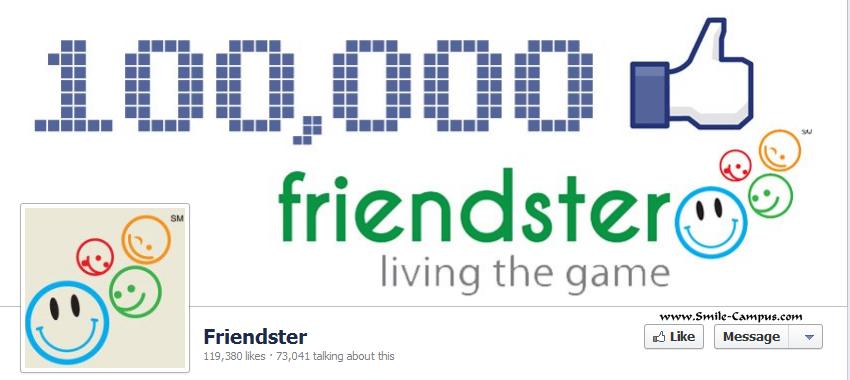 Friendster.com Facebook Timeline Page