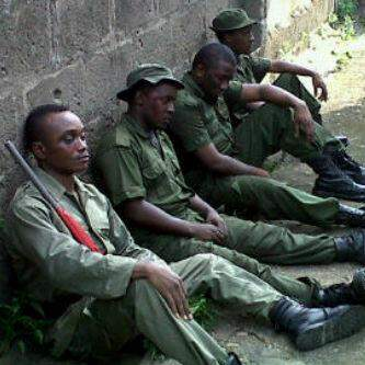 Photo of The Day:Brymo, MI, Ice Prince, Jesse Jagz in Army Uniform