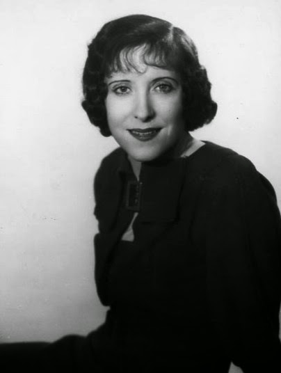 Early photo of Gracie Allen