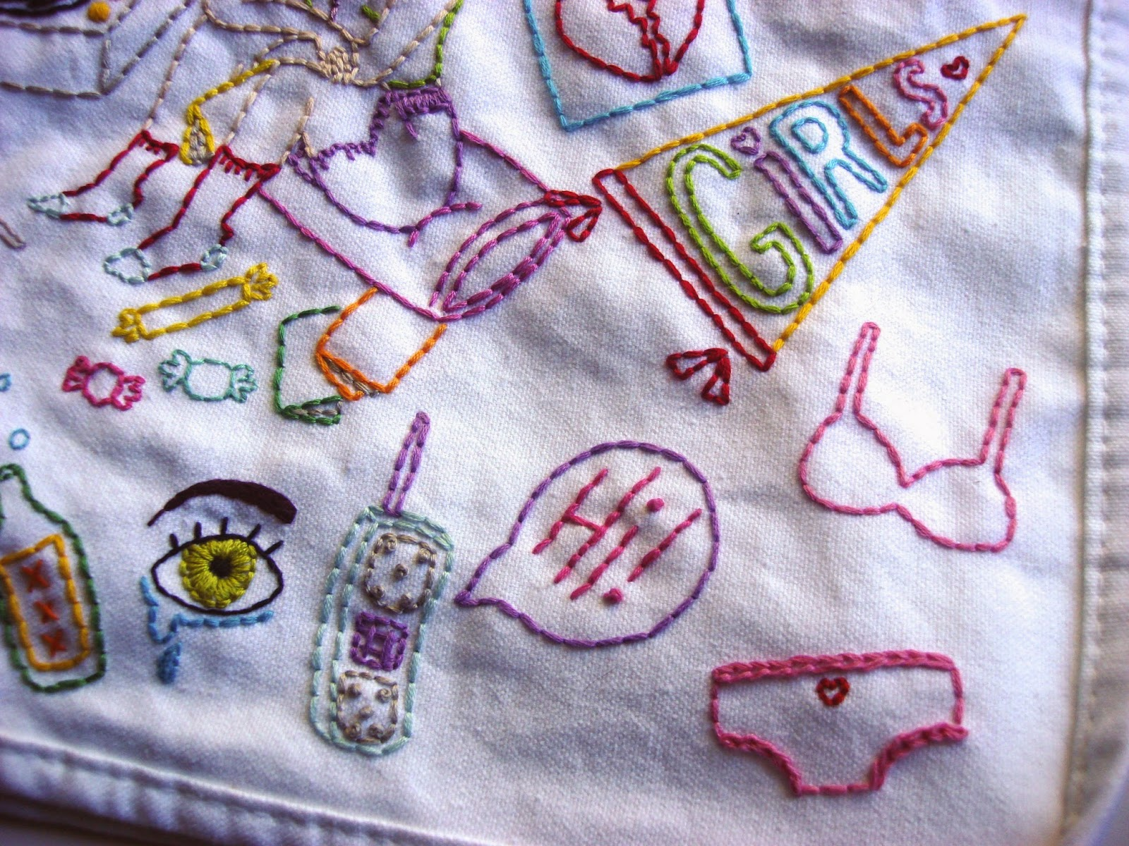 how to make embroidered pins