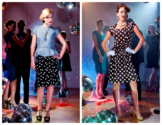 Vintage Inspired Polka Dot Dresses