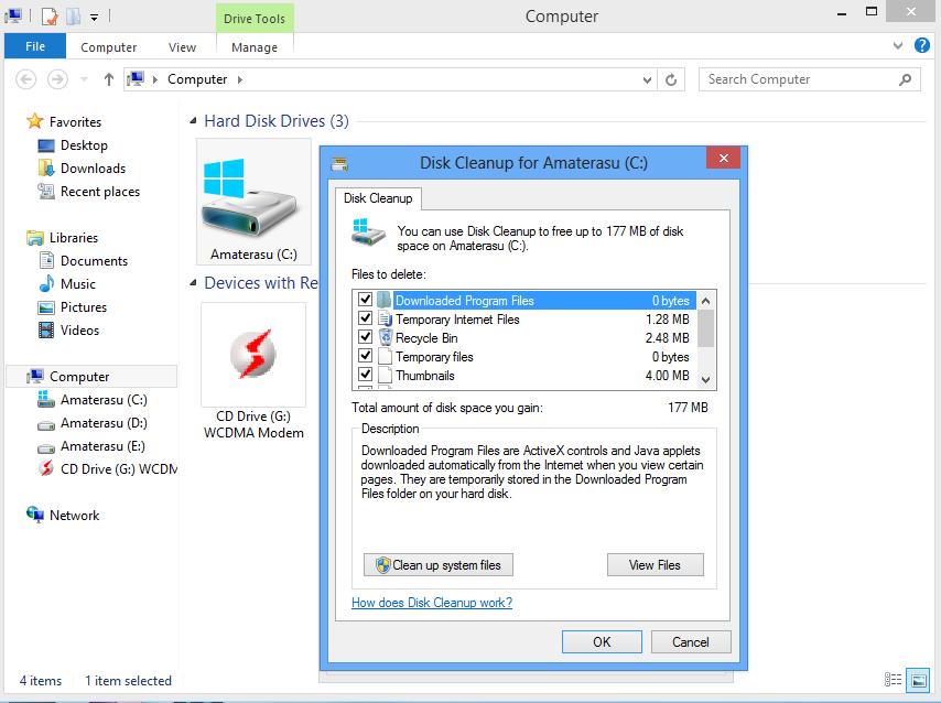 Mempercepat Kinerja Komputer Dengan Disk Cleanup 5