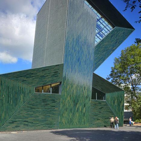 architecture and design jewish community center mainz. Black Bedroom Furniture Sets. Home Design Ideas
