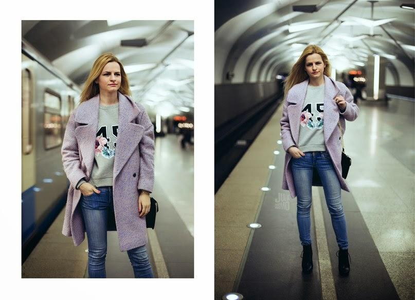 Pastel coat, spring street style, Irina Pavlova blog, пастельный тренд