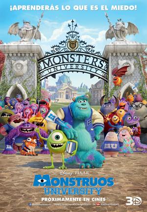 Primera escena de Monstruos University