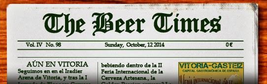 Dominical de noticas sobre cerveza. Pulsa aquí si no te carga para leer el periódico