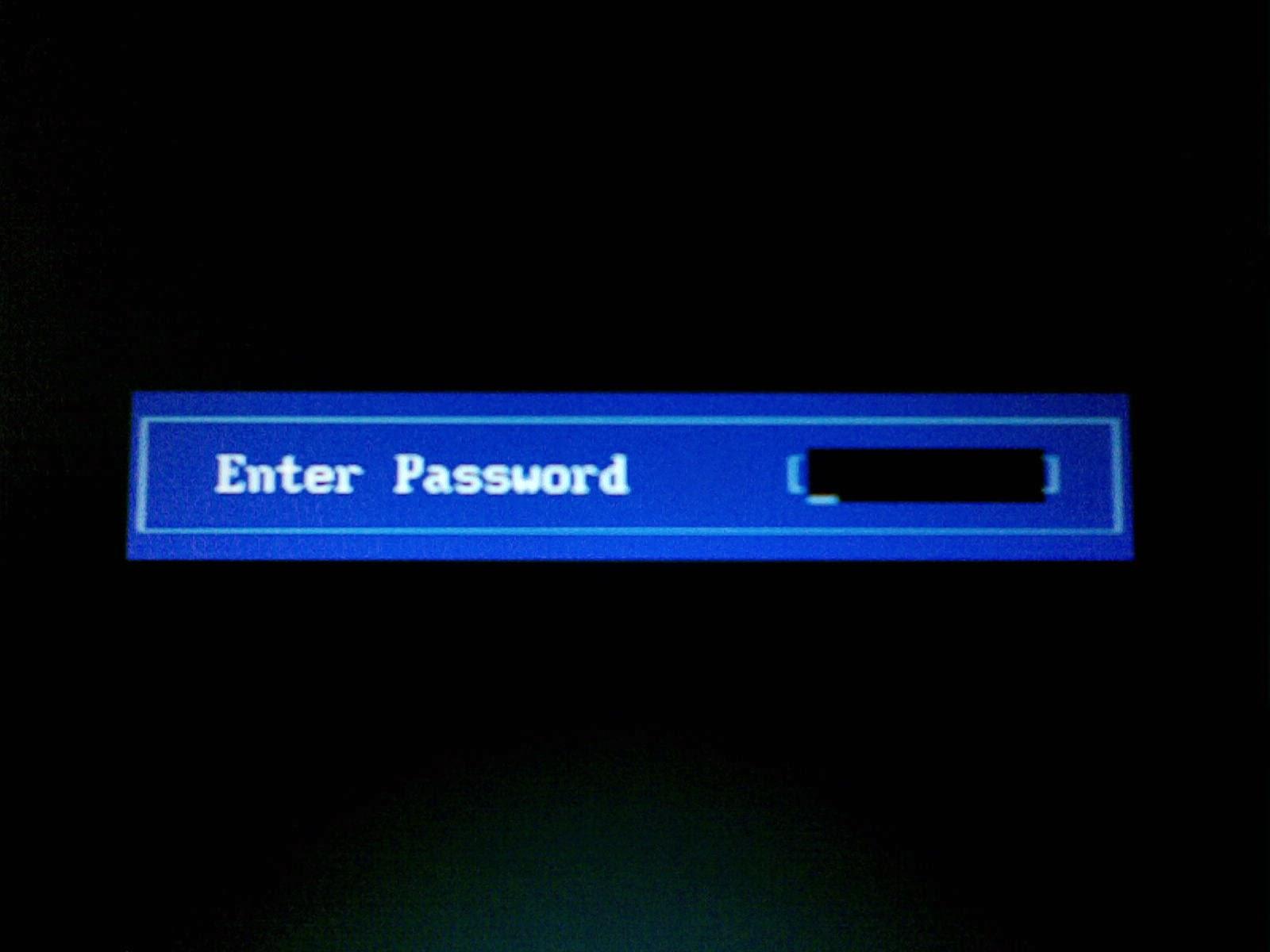 Cara Mereset Password BIOS Yang Lupa