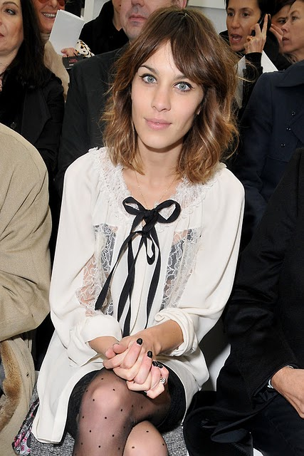 alexa chung and laces