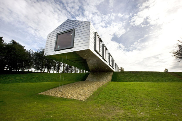 S arquitetura e planejamento v o livre e balan o for Modern house holiday lets