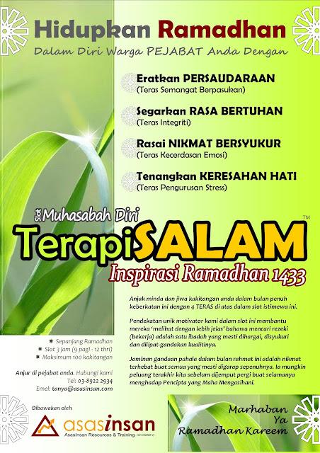 Ramadhan Bulan Muhasabah & Motivasi Diri
