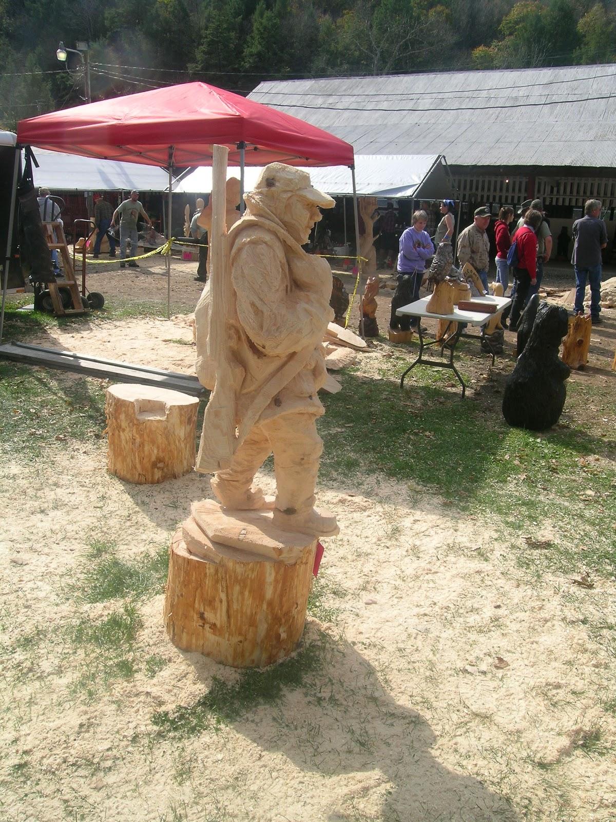 Luke sassani artist mid atlantic chainsaw carving