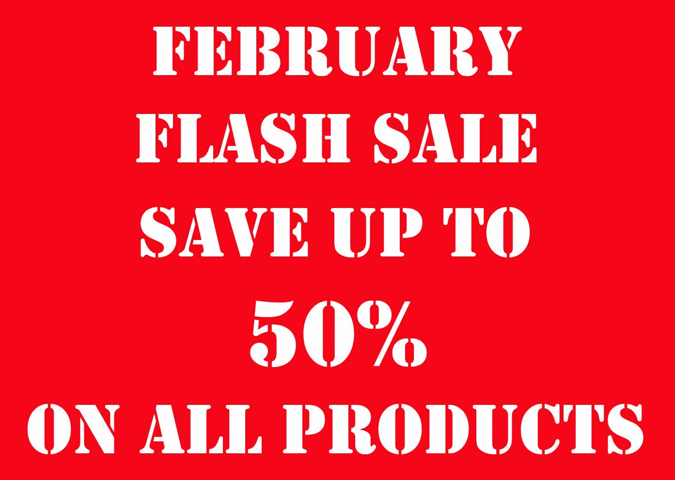 Nutcrafters February Flash Sale
