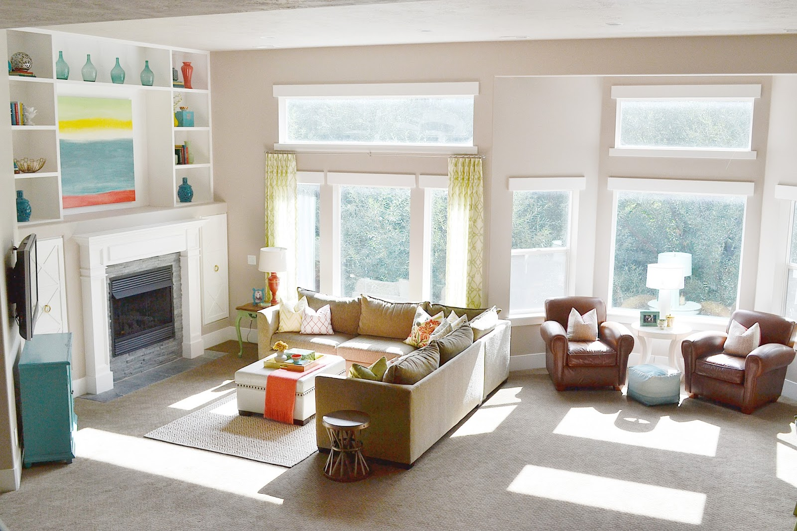 My New Home Basement Family Room - Sita Montgomery Interiors . & My New Home: Basement Family Room - Sita Montgomery Interiors
