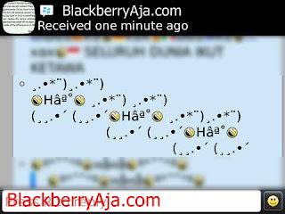 tulisan tulisan lucu dan unik serta simbol simbol autotext blackberry