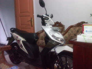 Motor Honda Beat B 6892 ETE Jakarta-Purwokerto