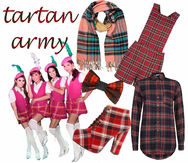 autumn winter trend 2013 tartan on www.gandeyworld.com