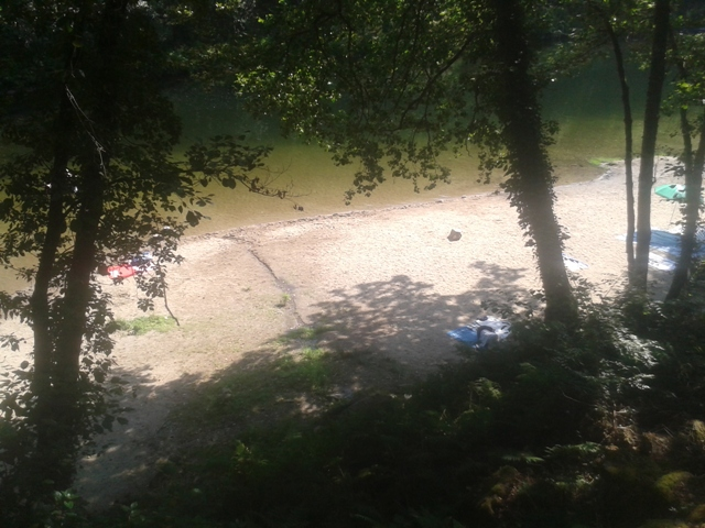 Areal da Praia Fluvial do Vau