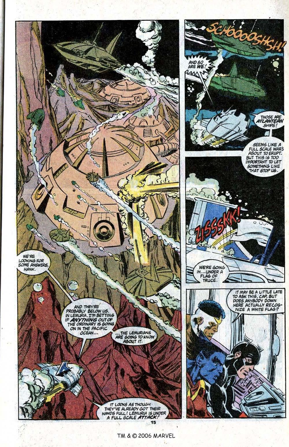 Captain America (1968) Issue #348c #280 - English 17