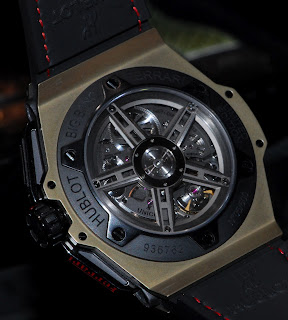 Calibre HUB 1241 Unico Mouvement Hublot Big Bang Ferrari