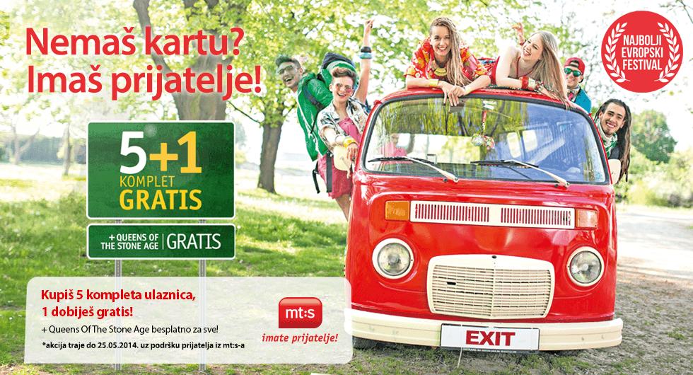 Exit - Nemaš kartu, imaš prijatelje?