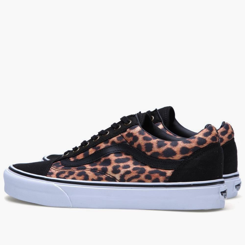 vans leopardo azul