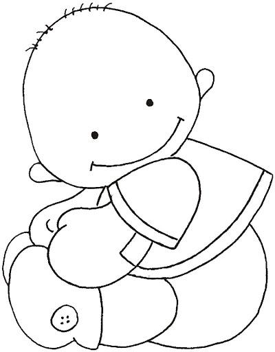 Dibujos y Plantillas para imprimir: bebes