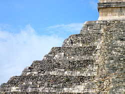 Chichén-Itza, en México...