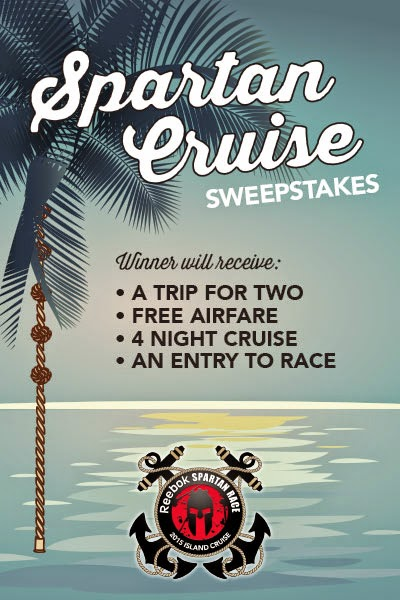 cruise NBC Sports and Spartan Race 6 Episodes of Spartan Races - Spartan Cruise Giveaway