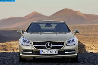 Mercedes slk 2010 front view - صور مرسيدس slk 2010 من الخارج