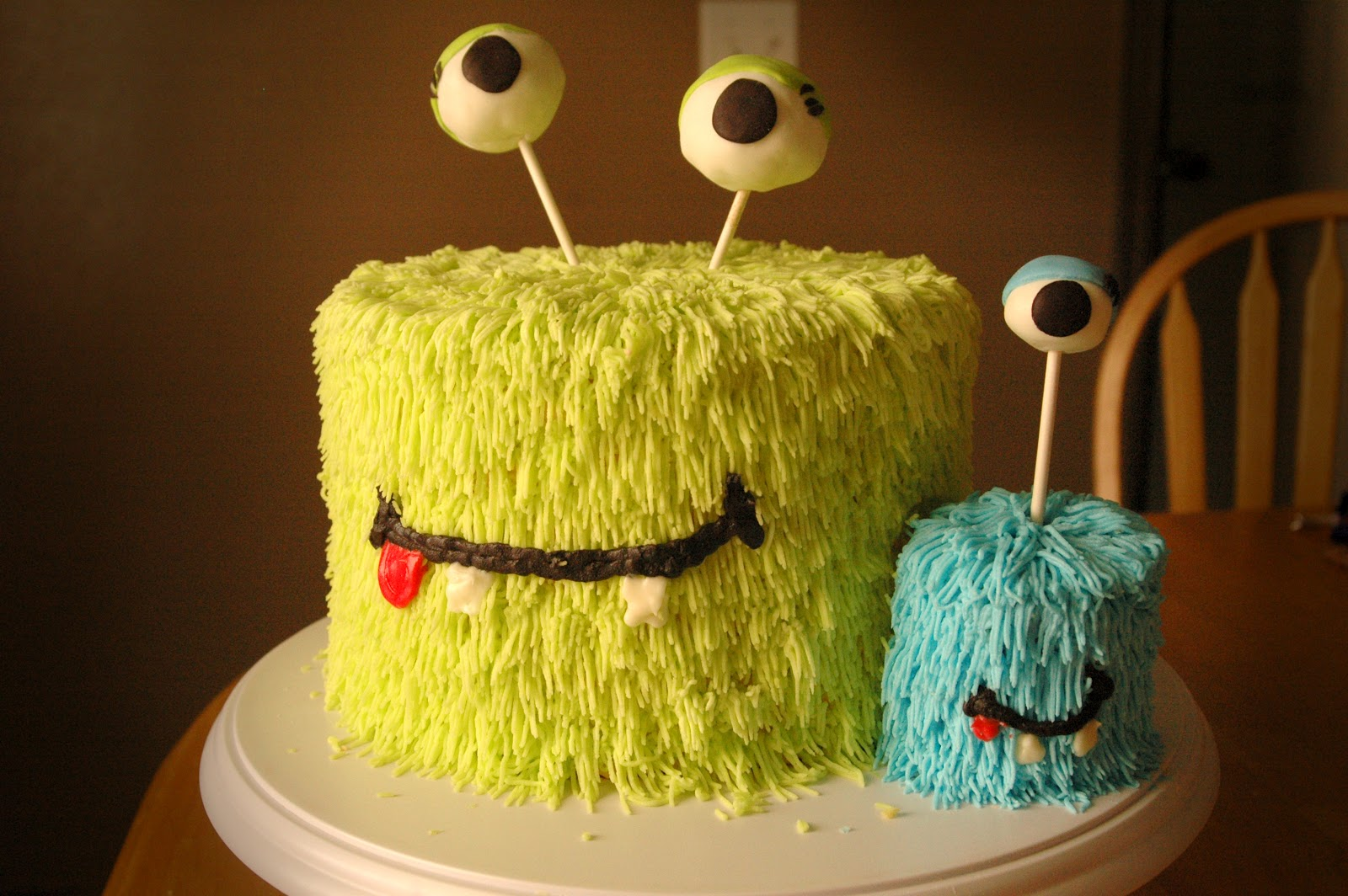 The Cake Diva Monster Cakes