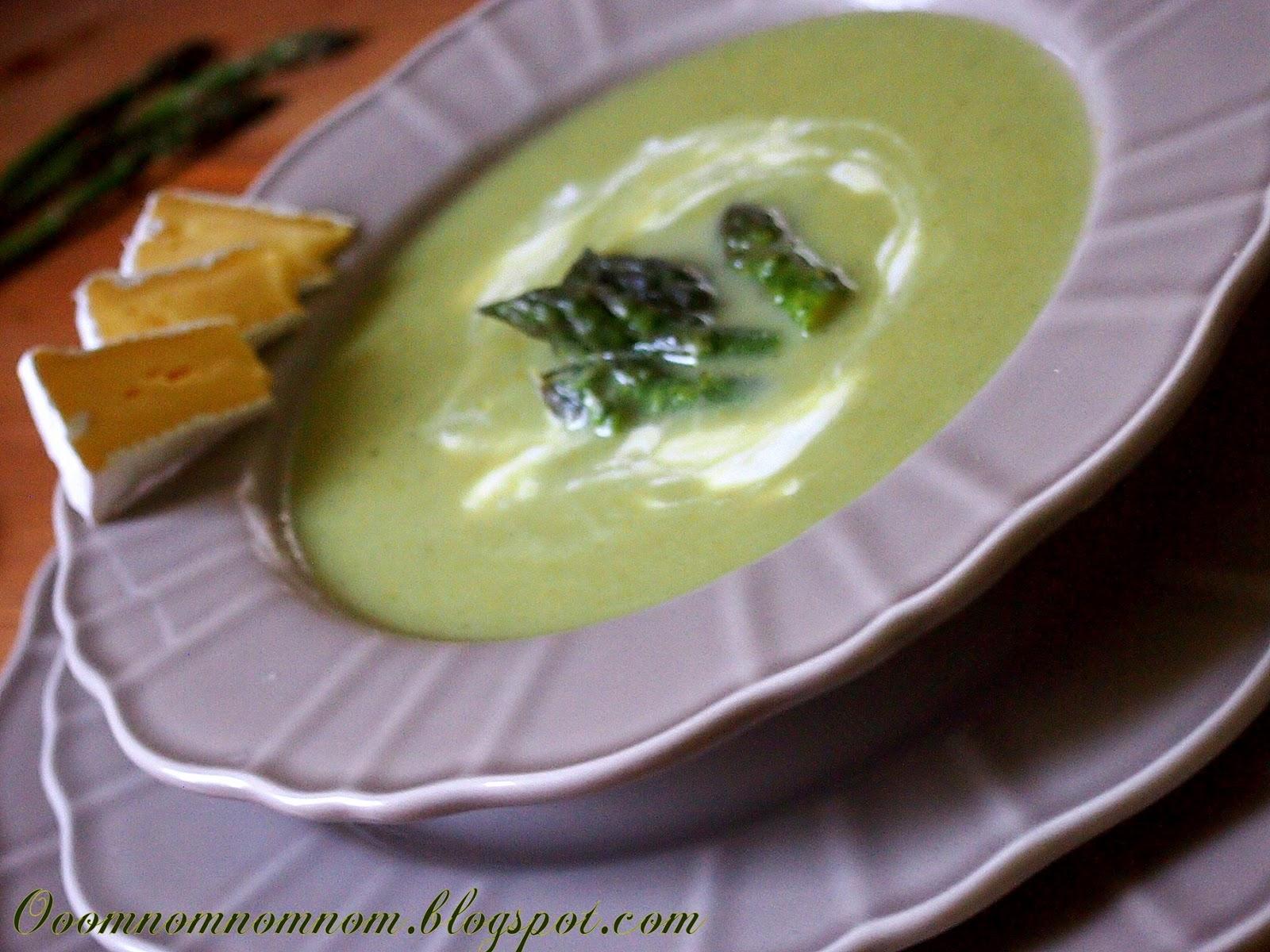 Ooomnomnomnom Krem Szparagowy Zupa Krem Z Zielonych Szparagow