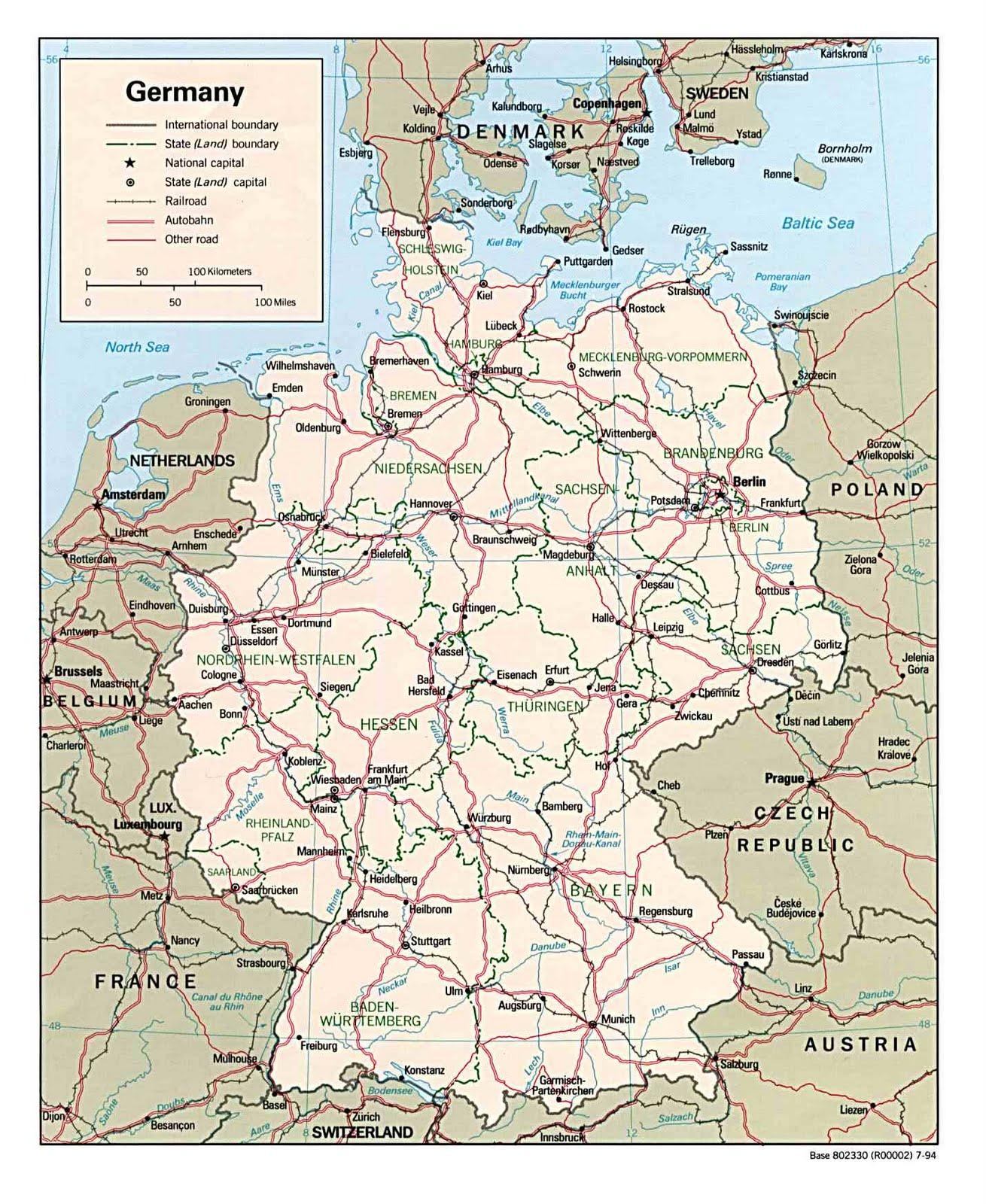 Deutschlandkarte blog: Deutschland karte Region Bild - Deutschland Und Schweiz Karte