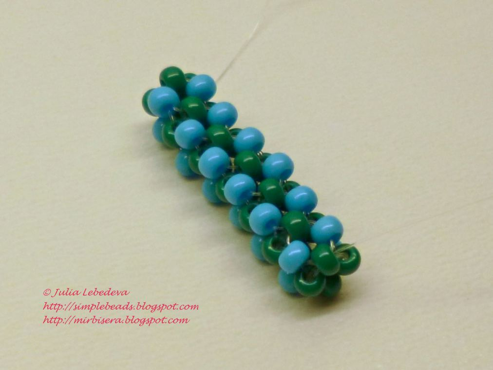 beading for the beginners cubic right angle weave