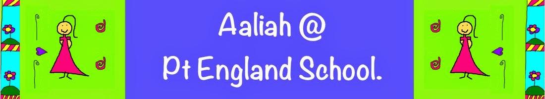 Aaliah @ Pt England School