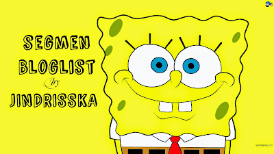 Segmen bloglist Jindrisska.blogspot.com