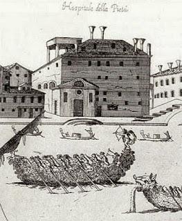 Ospedale della Pieta in Venice