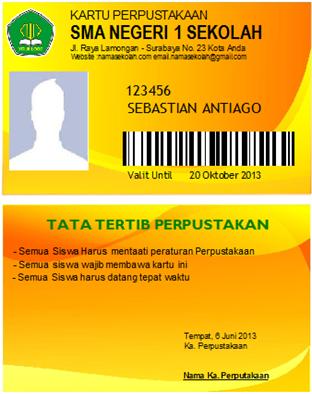 Kartu Perpustakaan