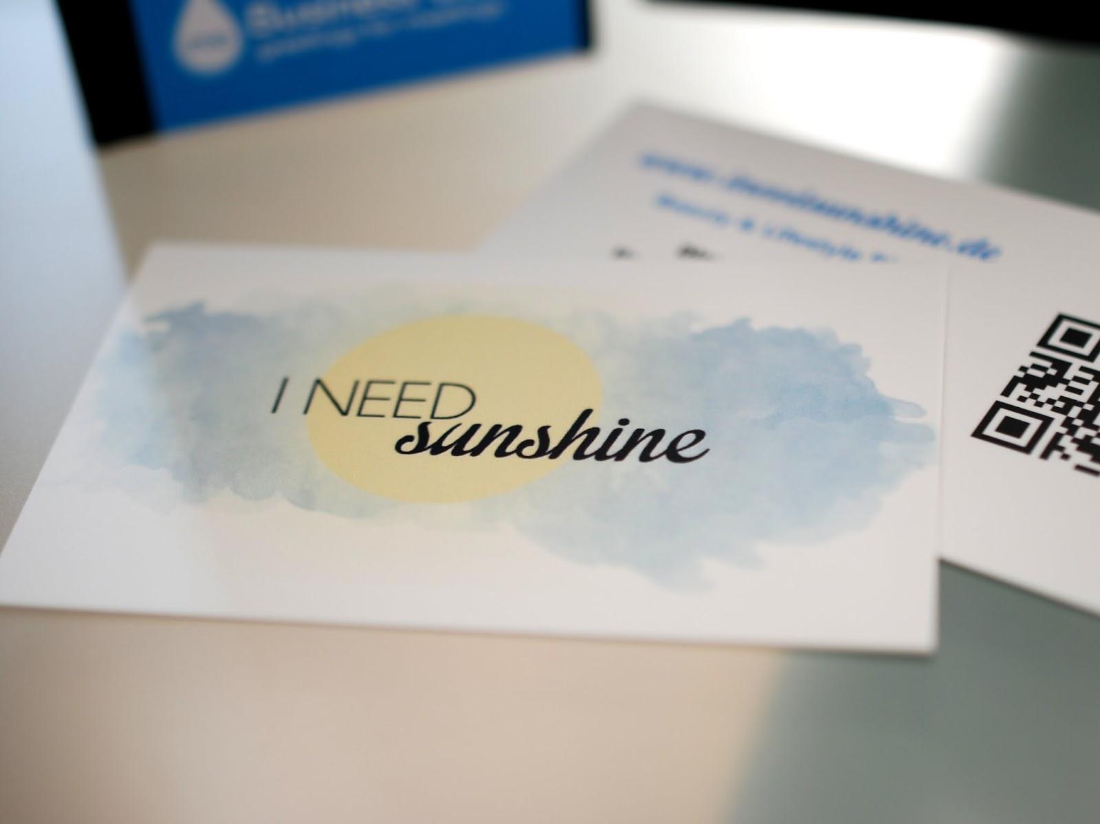 Braucht man als Blogger Visitenkarten